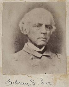 Sydney Smith Lee (September 2, 1802 – July 22, 1869) was a U.S.N. (cmdr.) and later a C.S.N. (capt.) officer, and an older brother to Robert E. Lee.
