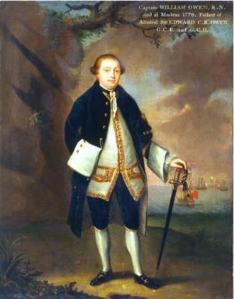 William Owen (Royal Navy officer, born 1737) - Capt. William Owen, R.N.