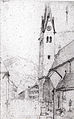 Carl Spitzweg - Kirche in Rottach-Egern am Tegernsee.jpg