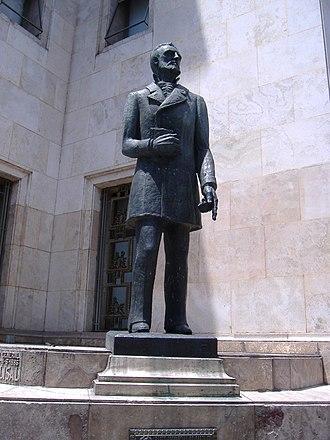 Carlos Casado del Alisal - Monument to Carlos Casado del Alisal, by sculptor Eduardo Barnes