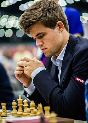 Magnus Carlsen - Carlsen at the 2016 Chess Olympiad