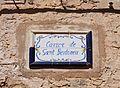 Carrer de sant Bertomeu d'Almudaina, placa.JPG