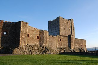 Willie Irvine - As a boy, Irvine often visited Carrickfergus Castle.