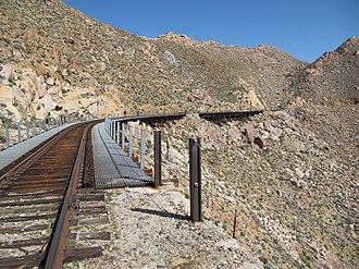 Carrizo Gorge Railway - Carrizo Gorge Trestles