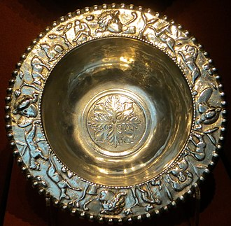 Carthage Treasure - A bowl with low relief scenes of shepherds