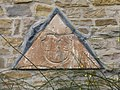 Carved stone from Kirkhill House, now in Almondell - geograph.org.uk - 1759166.jpg