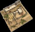 Casă Feniciană Canaanită fortificată 01 transparent.png