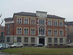 Camillo Boito - Casa di Riposo per Musicisti, Milan