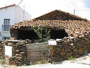 El Atazar - Image: Casa típica de El Atazar