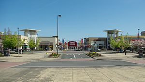 Cascade Station - Sports Authority at the center