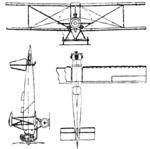 Caspar C 26 3-view Le Document aéronautique August,1926.png