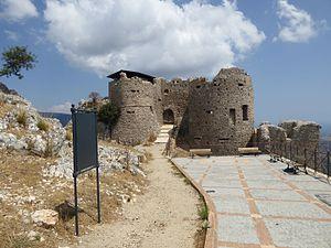 Castle of Stilo - Image: Castello Normanno Stilo 2016