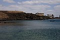 Castillo de San Gabriel desde Puerto Naos.jpg