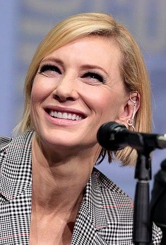 Cate Blanchett - Blanchett at the San Diego Comic-Con in 2017