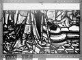 Cathédrale - Vitrail, Chapelle Saint-Joseph, lancette médiane, Légende de saint Romain, septième panneau, en haut - Rouen - Médiathèque de l'architecture et du patrimoine - APMH00031282.jpg