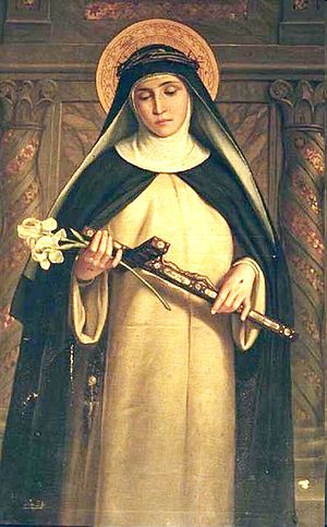 Saint Catherine of Siena. From chiesa di Santa...