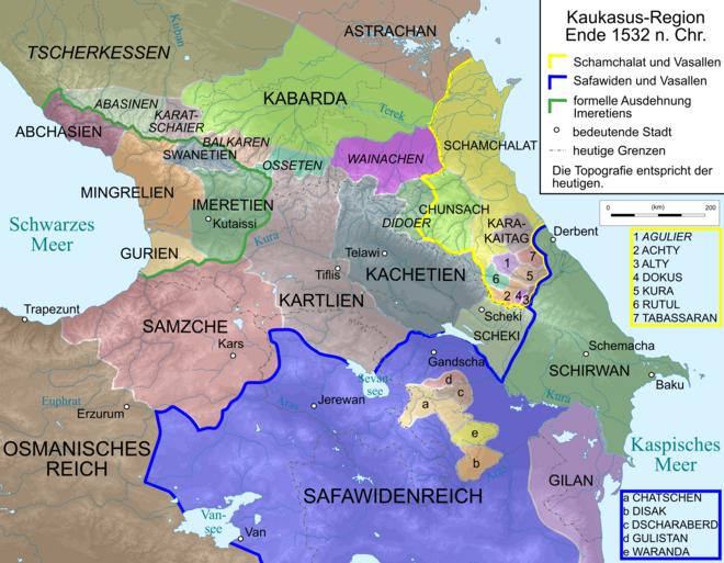 früherer kaukasier 5 buchstaben