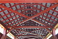 Ceiling of the Kramer Covered Bridge.JPG