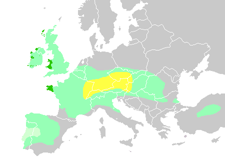Celtic expansion in Europe