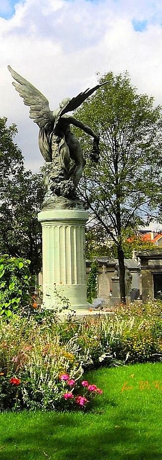 Montparnasse - Montparnasse cemetery and Tour Montparnasse.