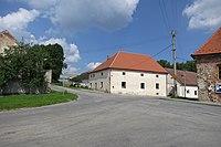Center of Knínice, Jihlava District.JPG