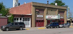 National Register of Historic Places listings in Merrick County, Nebraska - Image: Central City, Nebraska State Theater from SE 1
