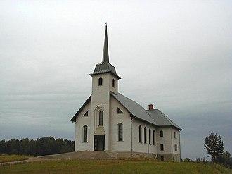 Cesvaine - Image: Cesvaines katoļu baznīca 2001 08 04