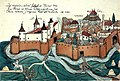 Timișoara Fortress in 1602