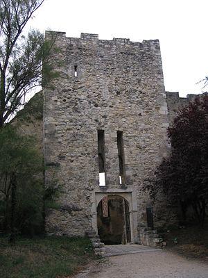 Château des Adhémar - Entrance