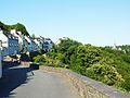 Châteauneuf-du-Faou 30 Le quartier du point de vue et la chapelle Notre-Dame-des-Portes.jpg
