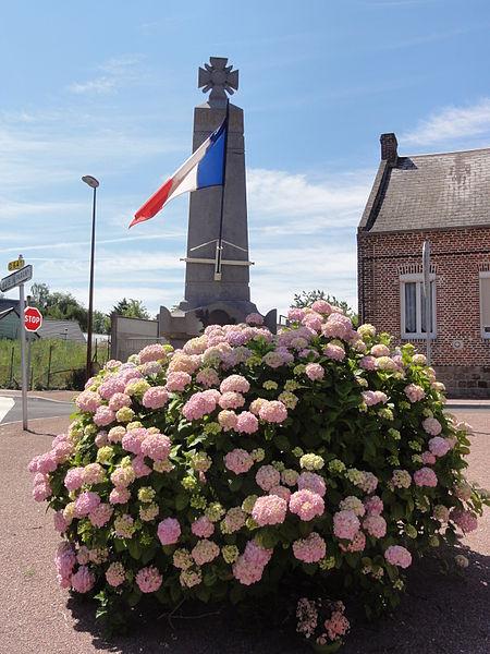 Châtillon-lès-Sons (Aisne) monument aux morts