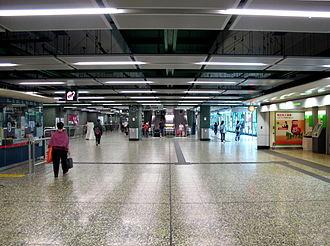 Chai Wan station - Chai Wan Station concourse
