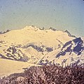 Challenger Glacier was a backdrop, to the south, from our several day camp on Whatcom Pass. This was summer of 1972. My guess is, due to global warming, it has retreated some since then. (50933102258).jpg