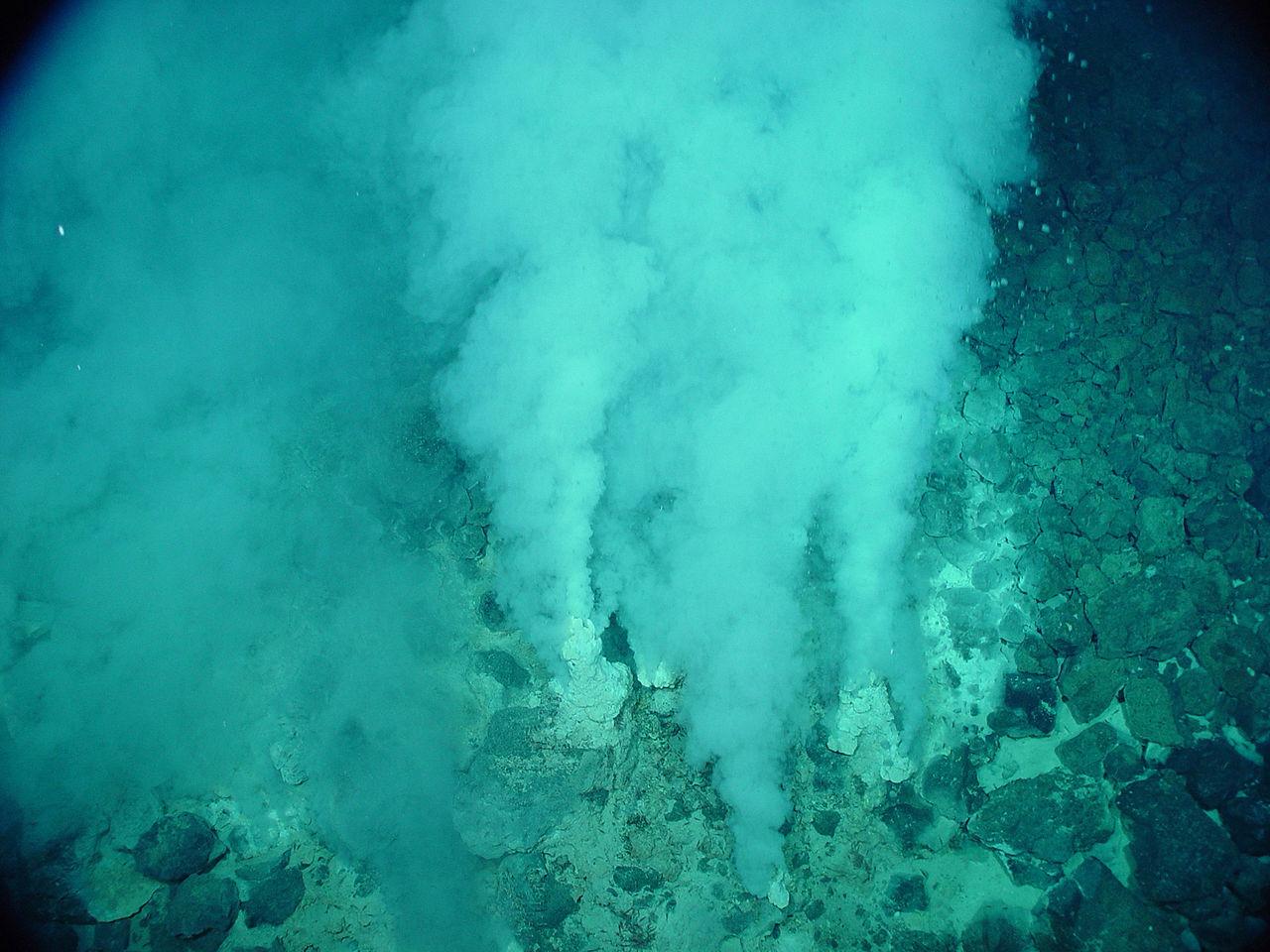 Oregon Volcanic Vent