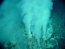 Chemosynthesis in hydrothermal