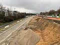 Chantier Construction Tramway IdF Ligne 10 Avenue Claude Trébignaud - Clamart (FR92) - 2021-01-03 - 5.jpg