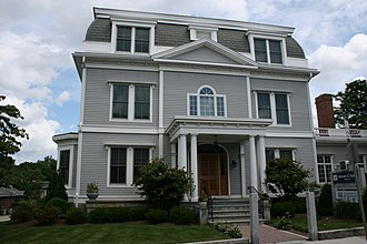 National Register of Historic Places listings in northwestern Worcester, Massachusetts - Image: Charles Allen House Worcester MA