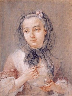Charlotta Sparre - Charlotta Sparre by François Boucher, 1741.