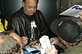 Cheech Marin Signing some autographs for the fans afetr one of his first reunion shows at Massey Hall During the week of TIFF '08 (2835137449).jpg