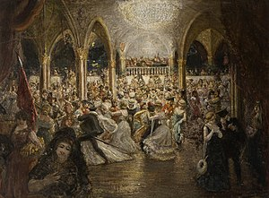 Chelsea Arts Club - Chelsea Arts Ball by William Gordon Burn Murdoch