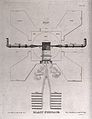 Chemical engineering; detailed plan of a blast furnace desig Wellcome V0024503.jpg