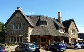 Ashton, East Northamptonshire - The Chequered Skipper pub at Ashton