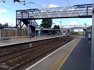 Cheshunt railway station - The station in 2008, after rebuilding works completed 2006