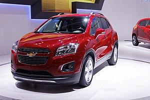 GM Gamma platform - 2013 Chevrolet Trax, subcompact crossover SUV based on the new Gamma platform