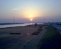 Chikugo river up20060426.jpg