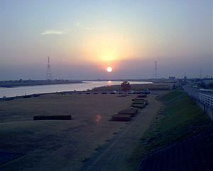 筑後川 2005年10月21日撮影