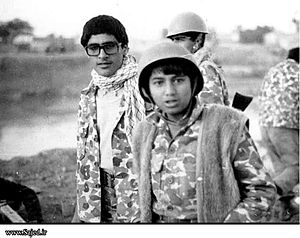 Military use of children in iran-iraq war in i...