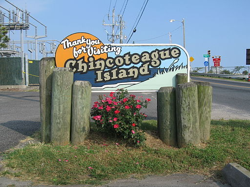 Chincoteague Island Sign 2