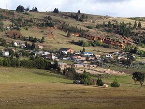 Chivatá - Image: Chivata Panoramica