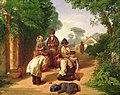 Chldren Spinning Tops by John Gendall at Royal Albert Memorial Museum.jpg